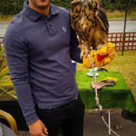owl and handler