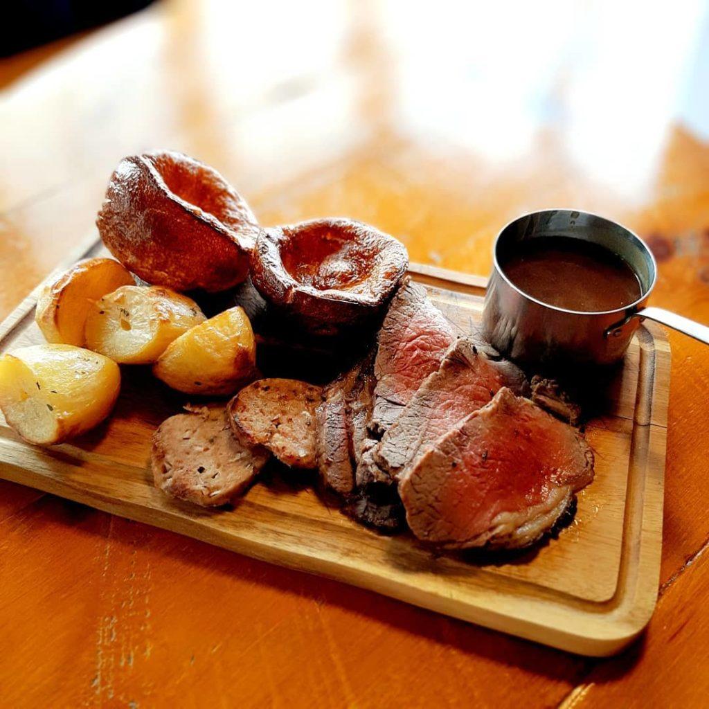 Roast Sirloin Platter