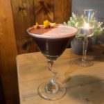Valentine's Chocolate Orange Martini